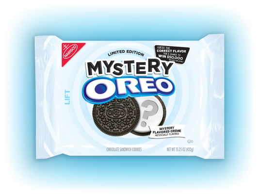 Mysterious Oreo cookie flavor
