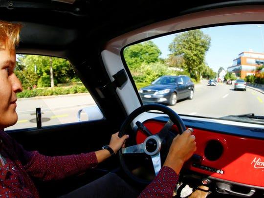 "Este es el famoso micro auto ""Isetta Microlino"""