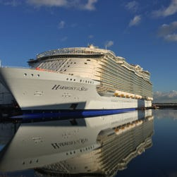 First look: Harmony of the Seas, the world's largest cruise ship