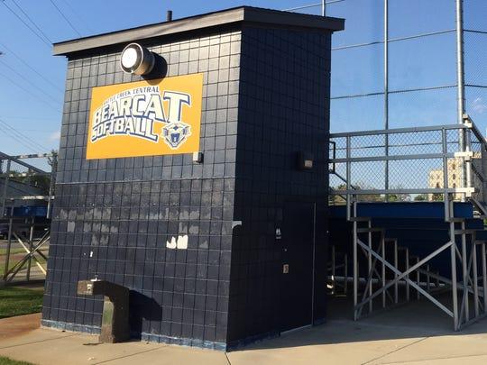 The Battle Creek Central softball complex.