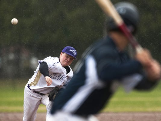 St. Anselm vs. St. Michael's Baseball 04/22/15