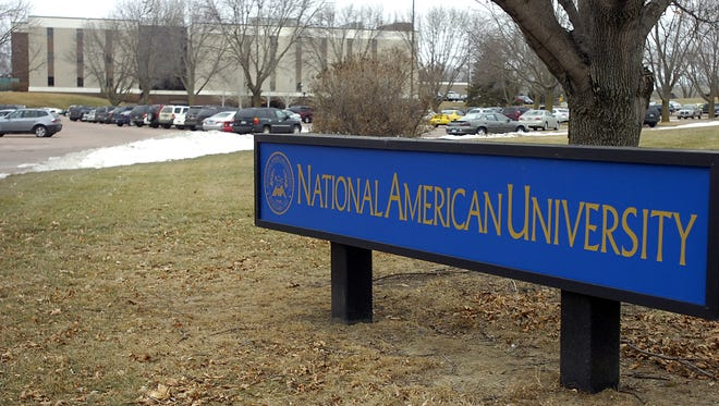 National American University in Sioux Falls.  (Elisha Page/Argus Leader)