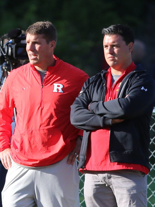 Rutgers football camp at Fairleigh Dickinson University in Madison was held for tri state high school players who were instructed by some big name  college coaches.