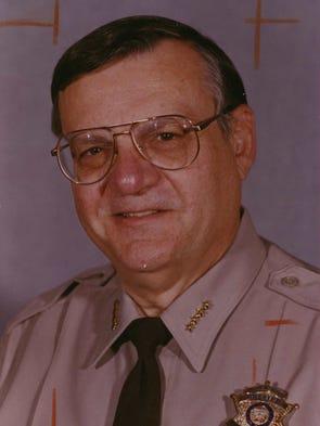 Maricopa County Sheriff Joe Arpaio as seen in 1993.