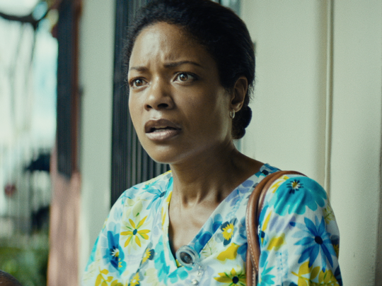 "Naomie Harris plays a mom addicted to drugs in the critically acclaimed ""Moonlight."""