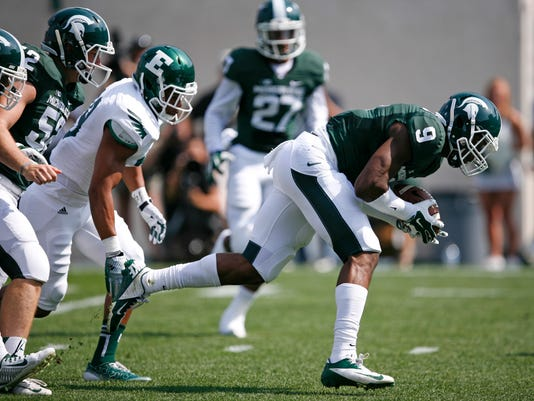 NCAA Football: Eastern Michigan at Michigan State