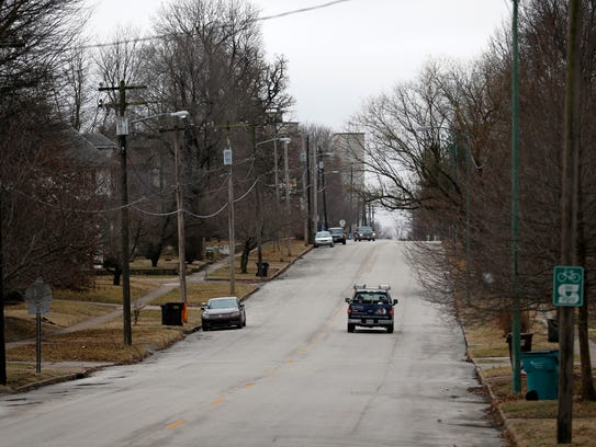 There's a quiet change taking place in the Woodland Heights neighborhood, Chad Dunivent says.
