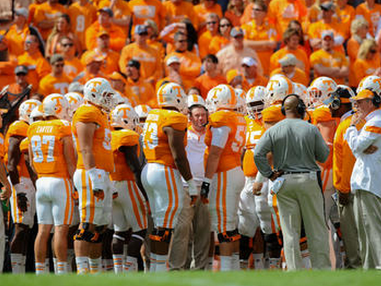 Start times for Tennessee's first three regular-season games were released Thursday.