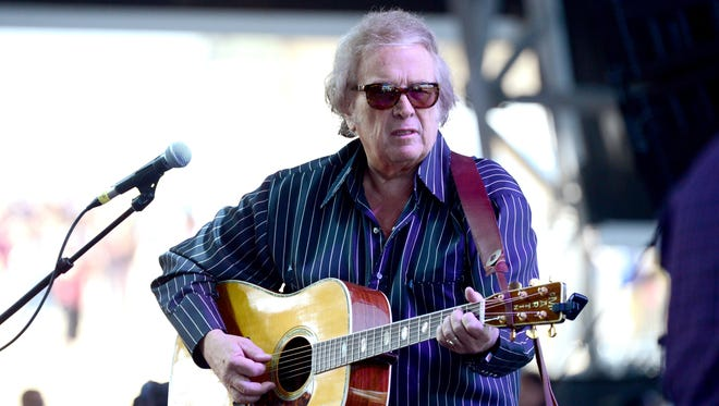 Don McLean in April 2014 in Indio, Calif.