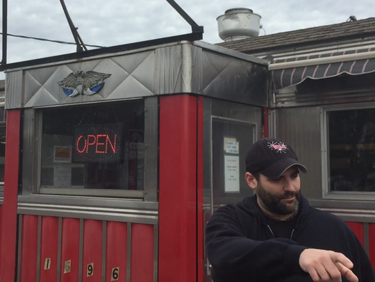 Corey Gottfried, owner of the Parkway Diner on Williston
