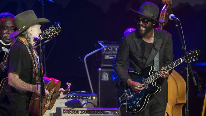 "Willie Nelson and Gary Clark Jr. are included in an all-star cast taking part in ""A Night for Austin,"" an all-star streaming event set to air on June 10. [Suzanne Cordeiro for American-Statesman]."