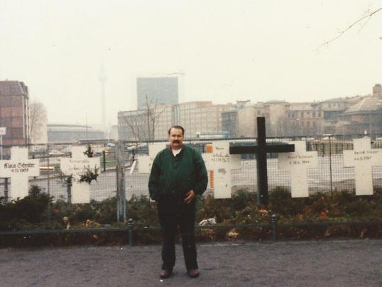 Photo at River Spree Memorial Site Livonia Resident Joe Neussendorfer copy