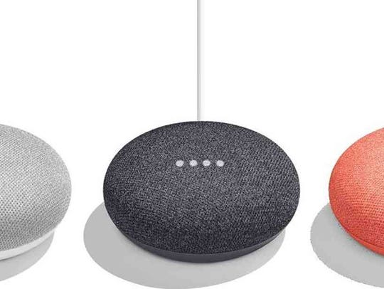 Use your smart speaker, like these Google Home Minis, to make free outgoing calls to U.S. and Canadian landlines and mobile numbers. With Amazon's Echo family of devices you can call Mexico for free, as well.