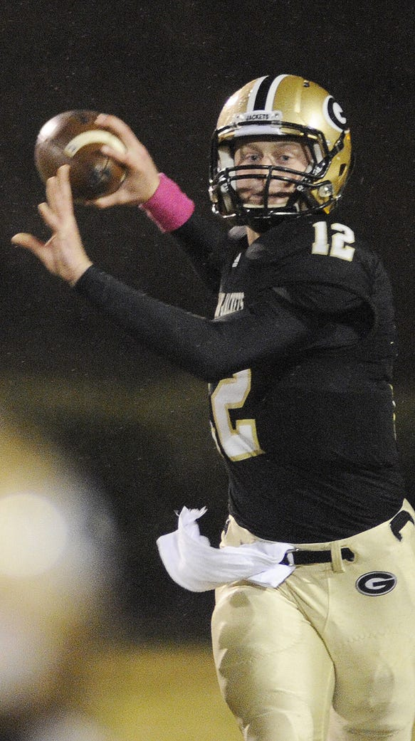 Reese Hannon, a member of the Greer High School Athletic