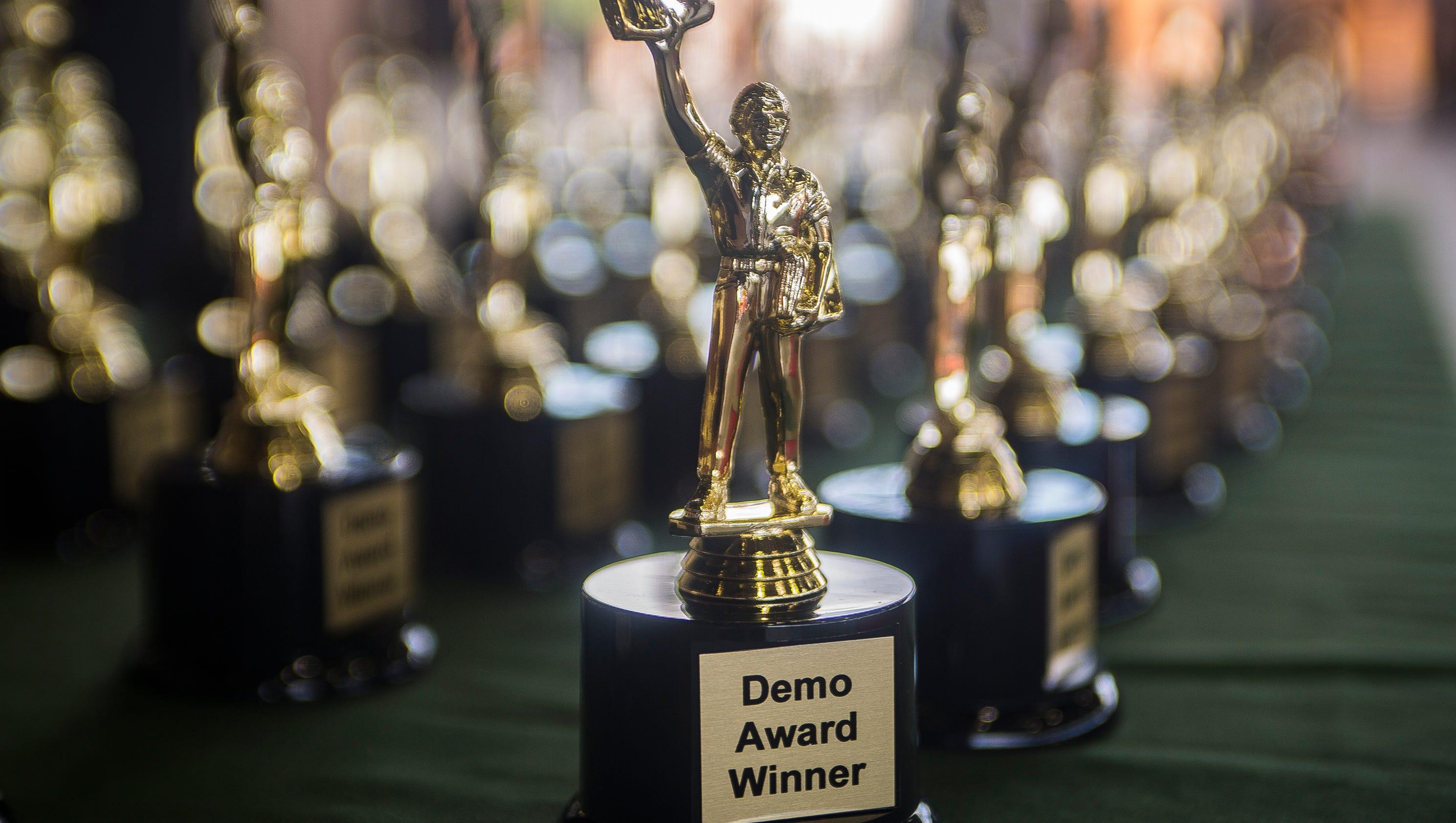 demo award winners