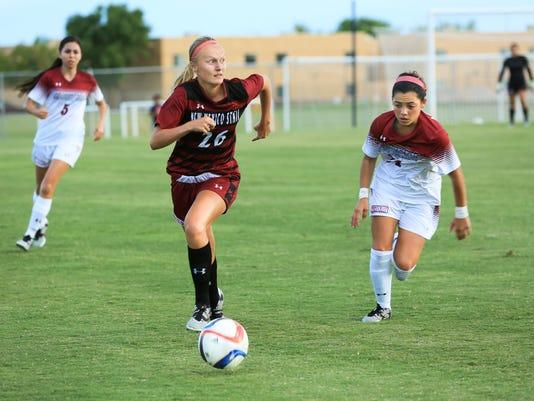 081016 NMSU Women's Soccer 1