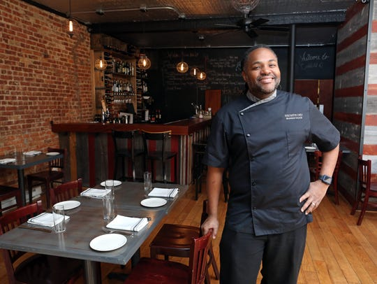 Chef-owner Brandon Walker at Essie's Restaurant in