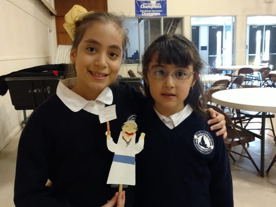 Paulina Gama, left, and Emilia Carrion.