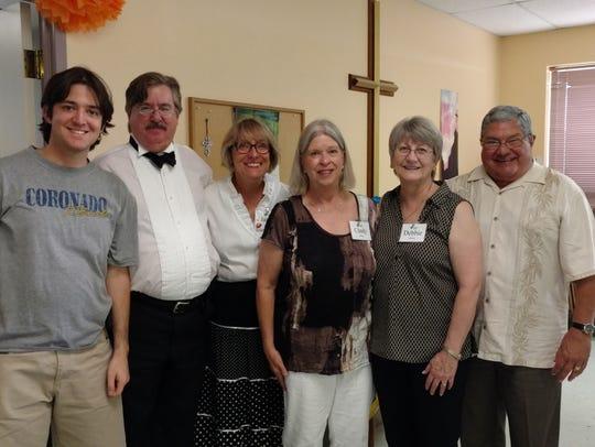 David Toulet-Crump, from left, Steve Jones, Janna Cannady,