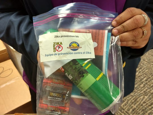 Zika prevention kits for uninsured pregnant women have