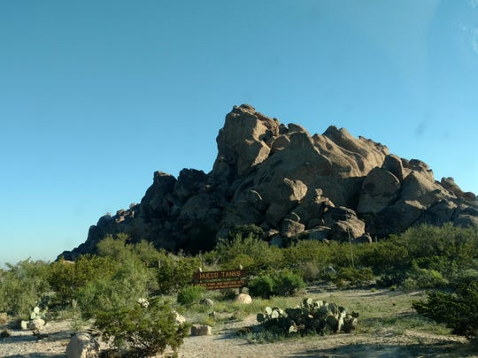 Halloween to March is the busy season at Hueco Tanks so rangers suggests making reservations for hiking early.