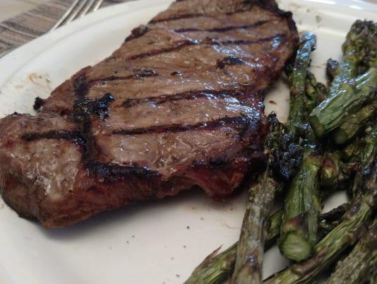 Dijon and Garlic Steaks