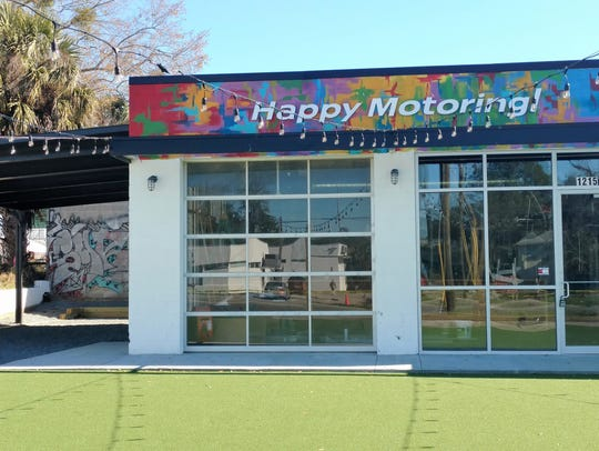Happy Motoring is a new business on the south side.