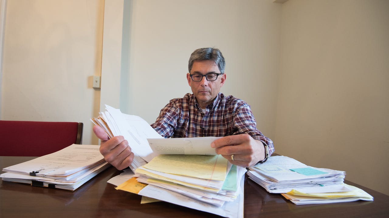 Stephen Hampton, a lawyer and owner of Grady & Hampton, LLC, Attorneys at Law in Dover, has received complaints from nearly 100 inmates, as well as family members and others about reported abuse inside the state prison system.