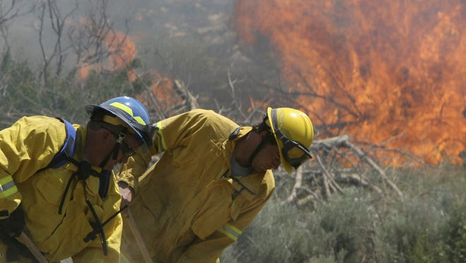 Wildfires are a danger throughout the summer months in Southern Utah.
