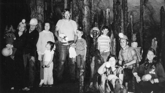 "Decades have passed since anyone passed along news about the North Texas Speleological Society, but the dedicated group of caving enthusiasts were routinely in the news from the 1960's to 1990. Wichita Falls apparently had a fascination with those who ventured toward the center of the earth. In 1973, 11 members traveled to Wilson Cave northwest of San Antonio, getting rare permission to explore the cave from landowner Elmo Wilson in exchange for helping Wilson enlarge the cave's entrance. During the first day of their visit, the men widened the entrance and a 12-foot crawlway leading to the main cavern, while the women and children camped out. When the families ventured into the cave on the second day, all heralded 2-year-old Joanna Hoffman as ""the littlest speleologist."" Among those participating were Joanna and her parents, Ann and Joe Hoffman; Bonnie, Andrea, Norman and John Jenkins; Joey and Stacy Hoffman, and Jerry David and Diane Metler.  By the 1980's, the North Texas Speleological Society included members from around the region, and was organizing trips to caves as far as 1,000 miles away, as well as hosting classes to pass on their skills and love of below-ground exploration."