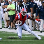 Louisiana Tech wide receiver Carlos Henderson will have an opportunity to beat UL Lafayette deep Saturday using his speed downfield.