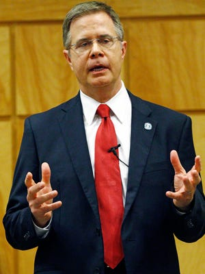 Jeffrey Vitter is the new chancellor of the University of Mississippi.