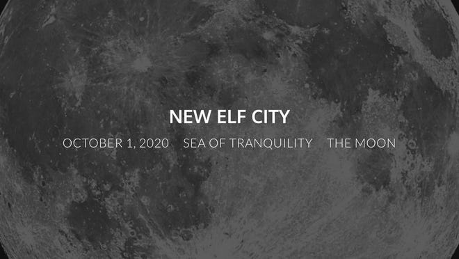 New Elf City takes place during the Harvest Moon on Thursday, Oct. 1, when real bands will imagine playing music on the moon.