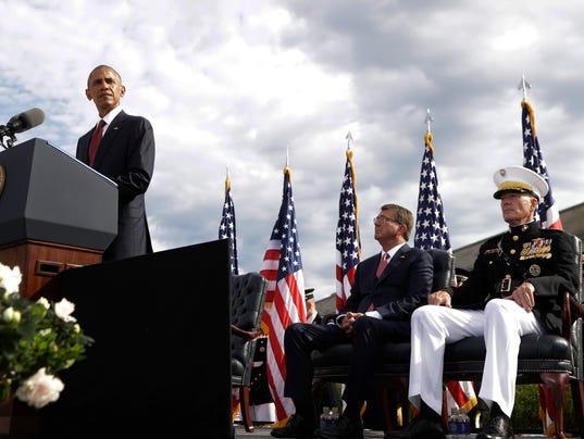 AP OBAMA SEPT 11 ANNIVERSARY A USA DC