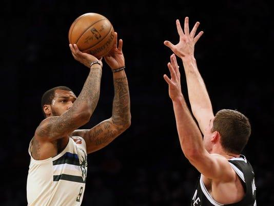 NBA: Milwaukee Bucks at Brooklyn Nets