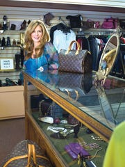 Pamela DeBlasio, owner of Past and Present Consignment
