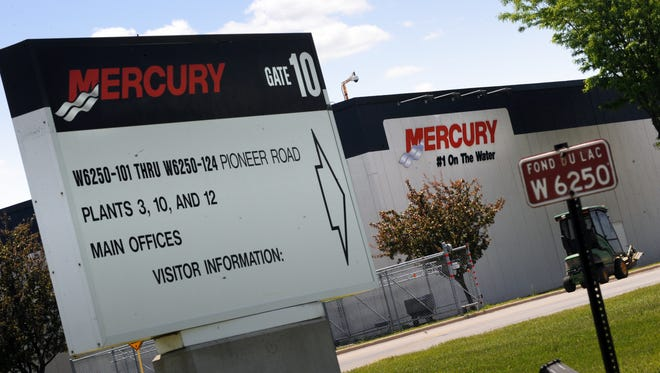 Mercury Marine has grown significantly in Fond du Lac over the past decade.