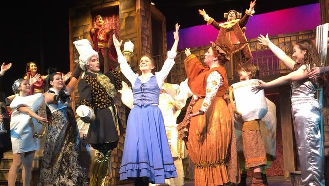 "Sunset Playhouse is showing ""Beauty and the Beast"" from Nov. 30 through Dec. 23."