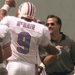 Former Oilers QB Steve McNair and coach Jeff Fisher didn't have many happy memories in Memphis.
