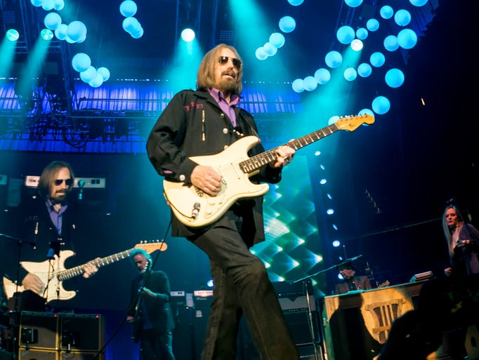 Tom Petty performing live at the Tom Petty and the