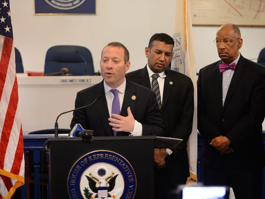 Rep. Josh Gottheimer, pictured on March 29, 2018.