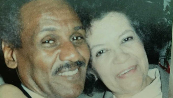 Lewis Wilson Jr., pictured with his wife, Delores, gave up a dream of being a jazz musician to provide for his family.