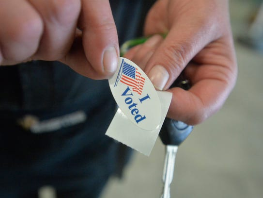 Montana voters cast their ballots in Tuesday's primaries