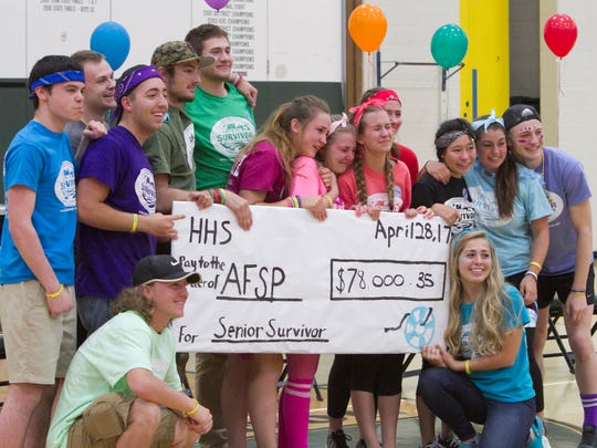 14 Howell High School seniors, who moved into the high