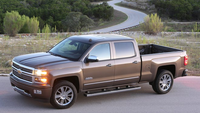 Dealers are only getting 80% of the Chevrolet and GMC V-8 trucks they order, such as this Chevy Silverado, because of a parts shortage.