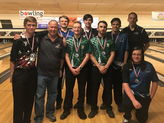 The GWOC West team finished second in the boys all-star tournament April 29 at Colerain Bowl.