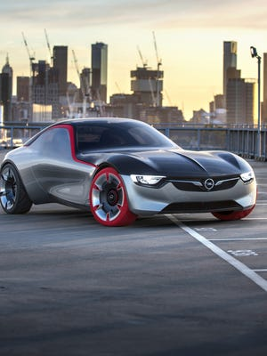 GM says the Opel GT Concept shows what a sports car of the future will look like.