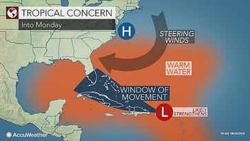 All eyes on tropical wave as it heads toward Florida