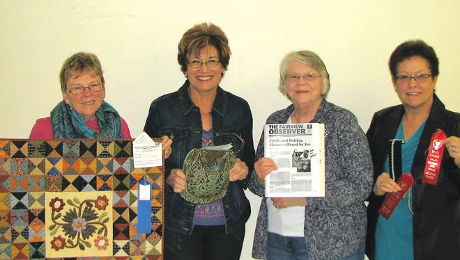 2016 TAFCE Winners: (left to right) Marilyn Holder, Marian DePadova, Mary Alice Weber, and Winnie Decker.     Submitted