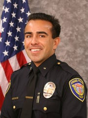 Andrew Salinas, the chief of police for the Port Hueneme Police Department, will serve as the city's interim city manager while city staff interviews prospective candidates.